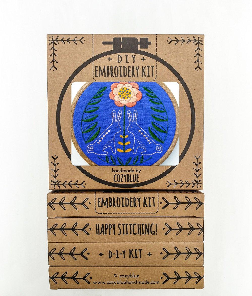 Embroidery Kit- Sunny Bunny
