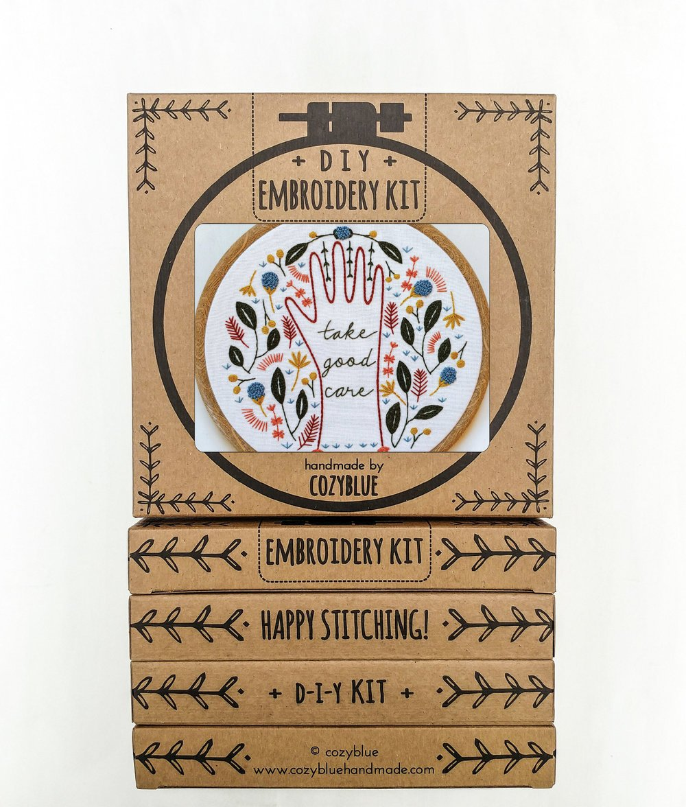 Embroidery Kit- Take Good Care