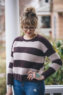 The Daily Sweater pattern by Drea Renee Knits