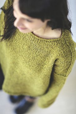 The Easy Bulky One Sweater pattern by Joji Locatelli