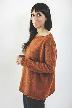 The Easy One Sweater pattern by Joji Locatelli
