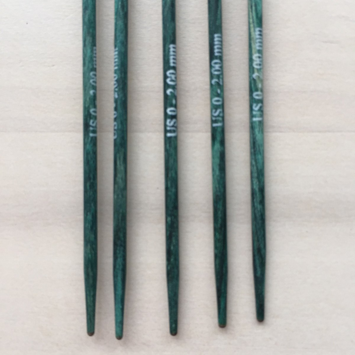 5 Wooden DPN's