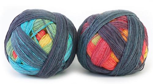 Zauberball Cotton Sock Yarn