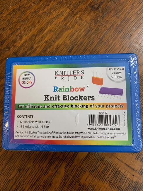 Rainbow Knit Blockers