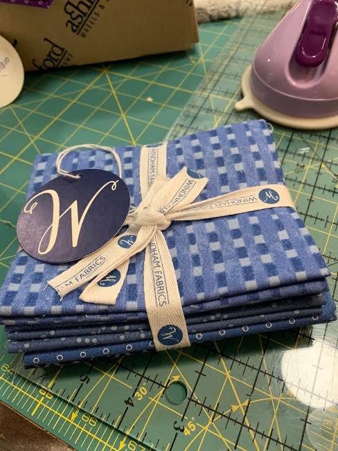 Windham Blue Heaven fat quarter bundle