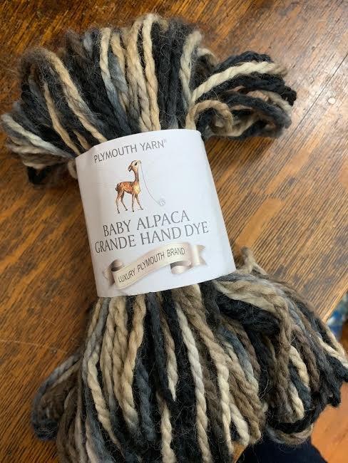 Pymouth Baby Alpaca Grande Hand Dye