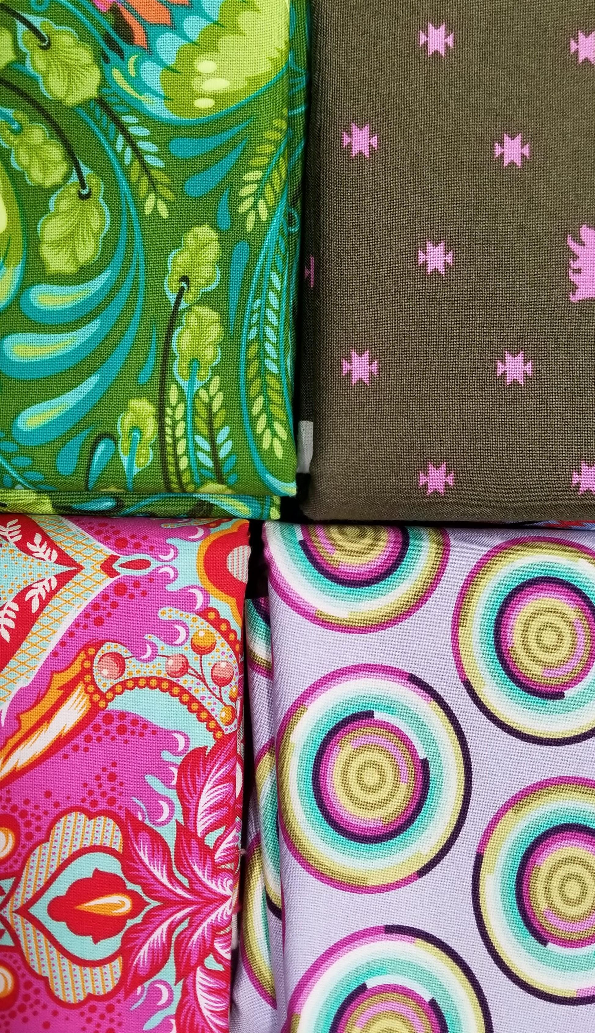 Tula Pink 1 Yd Variety Cuts