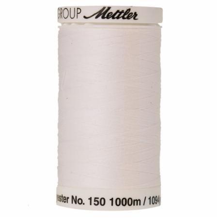White, Mettler Bobbin Fill Thread