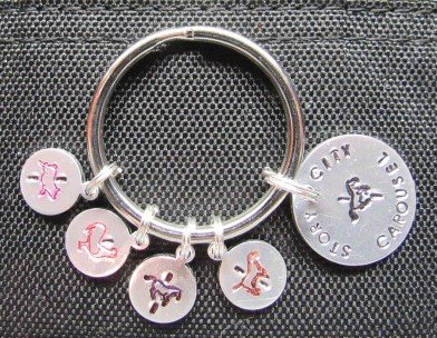 Story City Antique Carousel Charm Set
