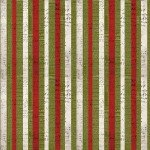 Tim Holtz - Eclectic Elements Multi Christmas Stripe Christmas