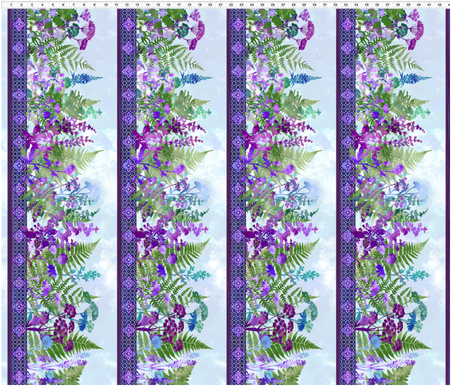 Haven Purple Border 1HVN-3
