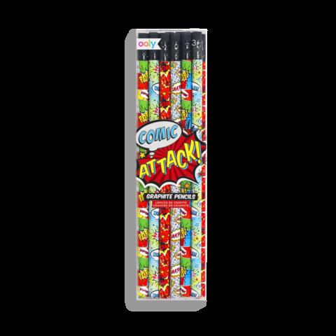 Comic Attack Graphite Pencils