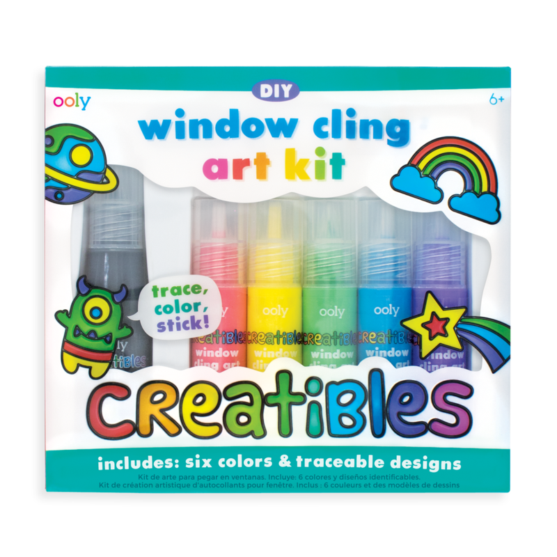 Creatibles Window Cling Art Kit