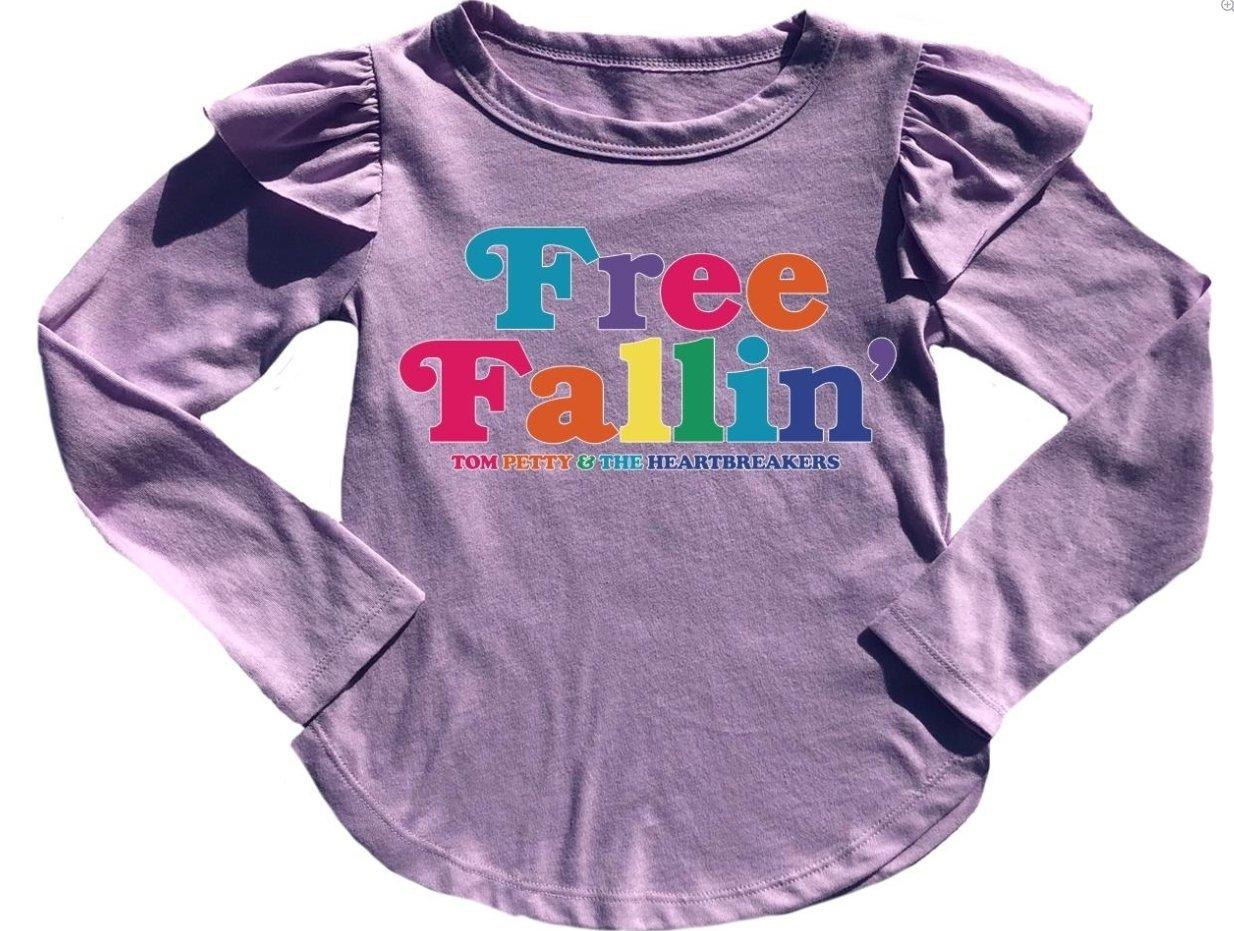 Free Fallin Ruffle Tee