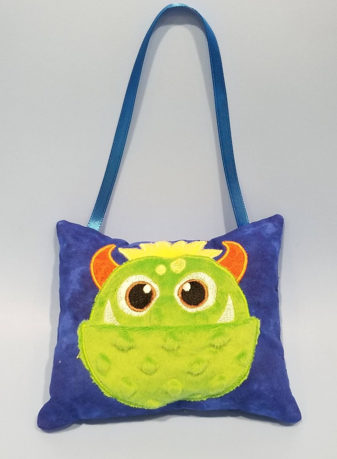 Monster Tooth Fairy Tooth Pillow