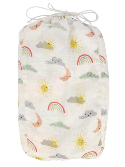 Happy Weather Swaddle Blankets Two Pack