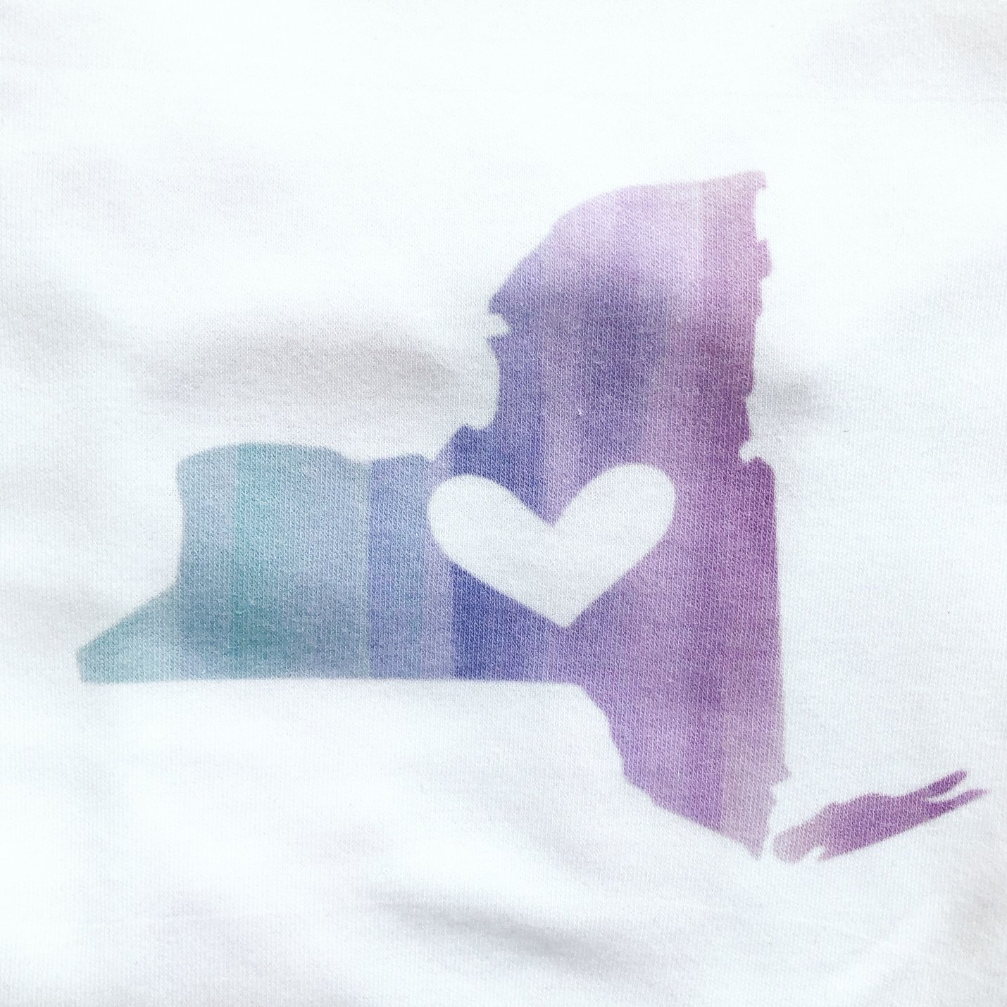 New York State Love Long Sleeve Onesie