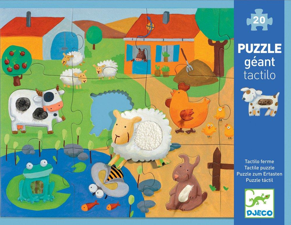 Farm 20pc Giant Tactile Puzzle