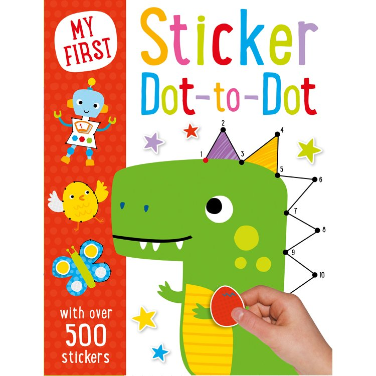 My First Dot-to-Dot & Sticker Activity Book
