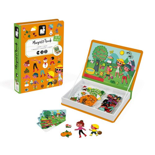 4 Seasons Magnetic Book Play Set