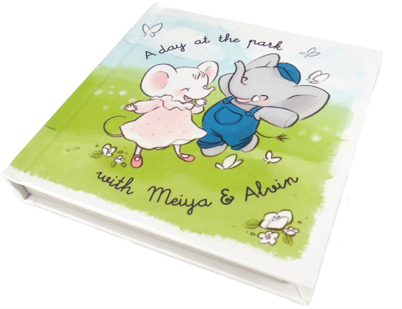 A Day at the Park with Meiya and Alvin Book
