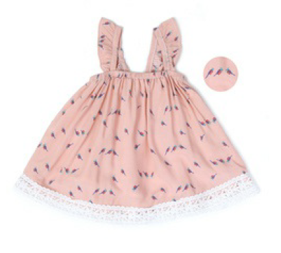 Baby Bird Ruffled Dress