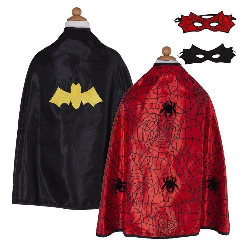 Reversible Spider/Bat Cape and Mask