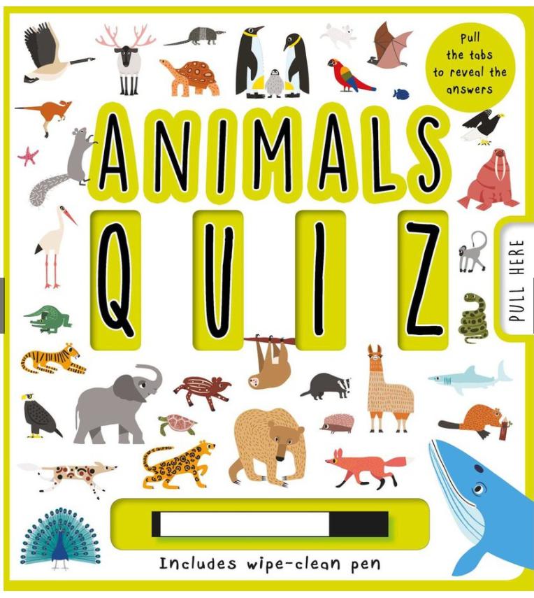 Animals Quiz Book