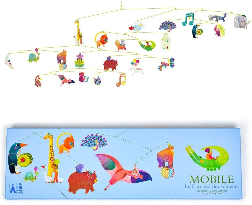Carnival of Animals Giant Mobile Room Decoration