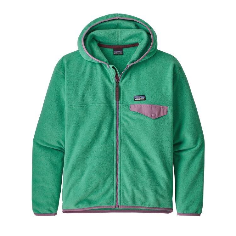 Patagonia Girls' Micro D Snap-T Fleece Jacket
