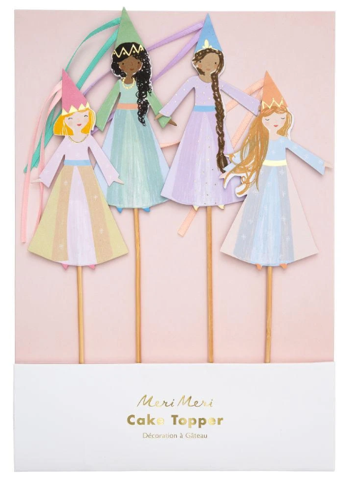 Magical Princess Cake Toppers
