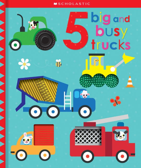 5 Big and Busy Trucks