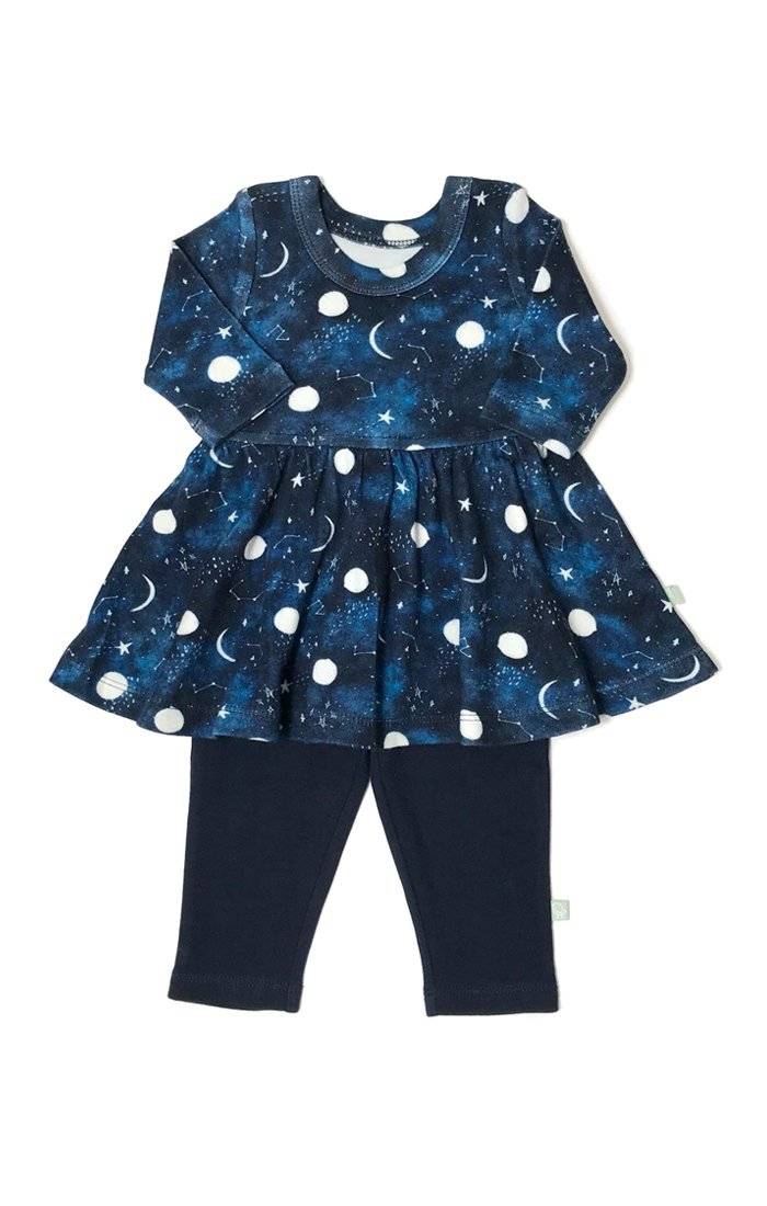 Finn + Emma Twirl Dress with Leggings