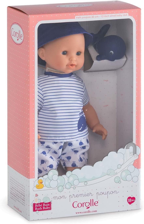 Corolle Bebe Bath Marin Baby Doll