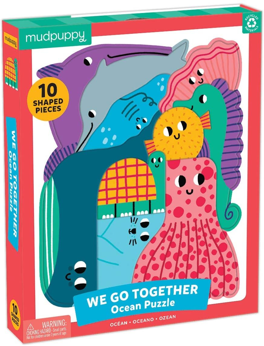 We Go Together 10pc Ocean Puzzle