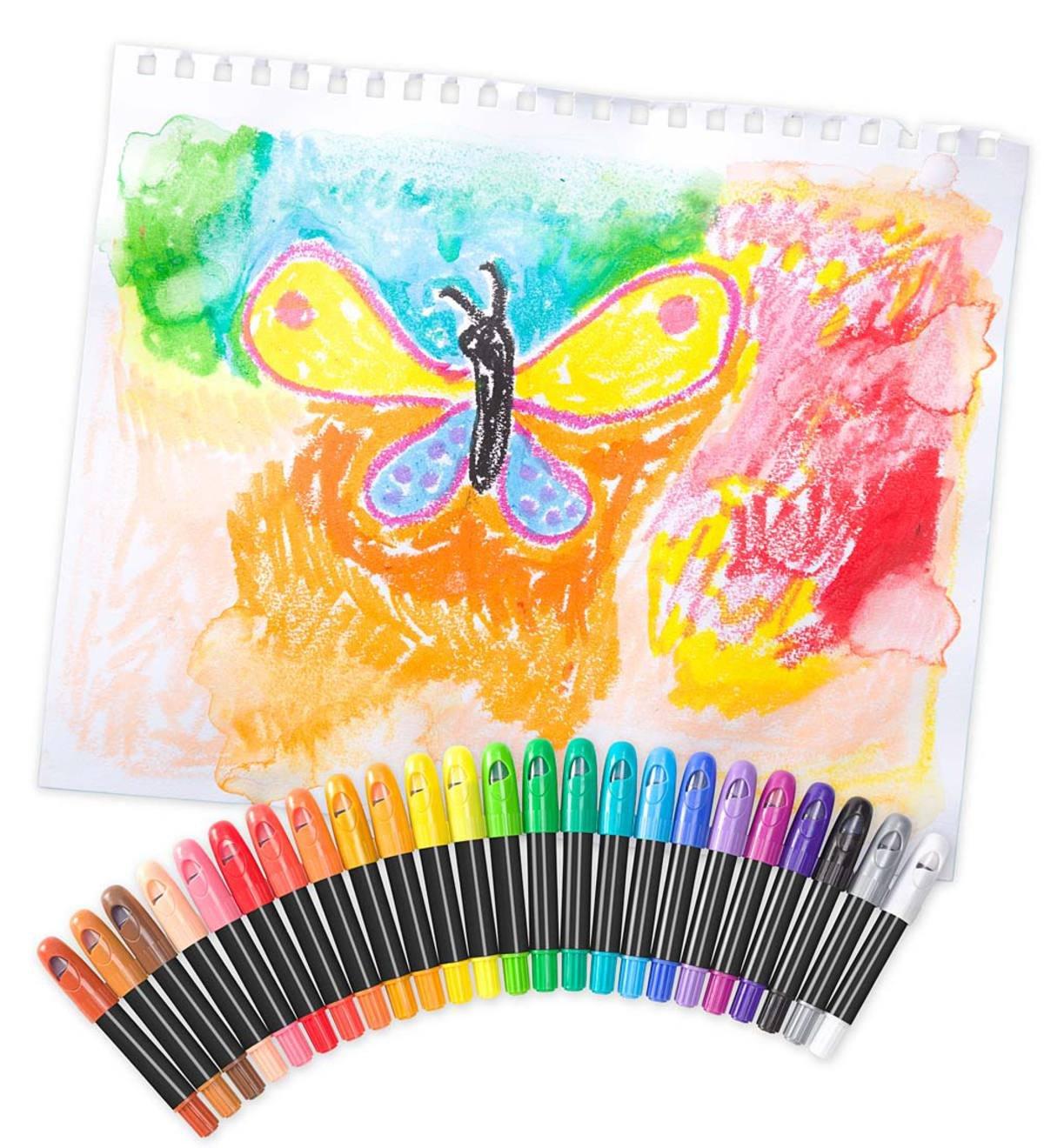 Color Pops Crayons