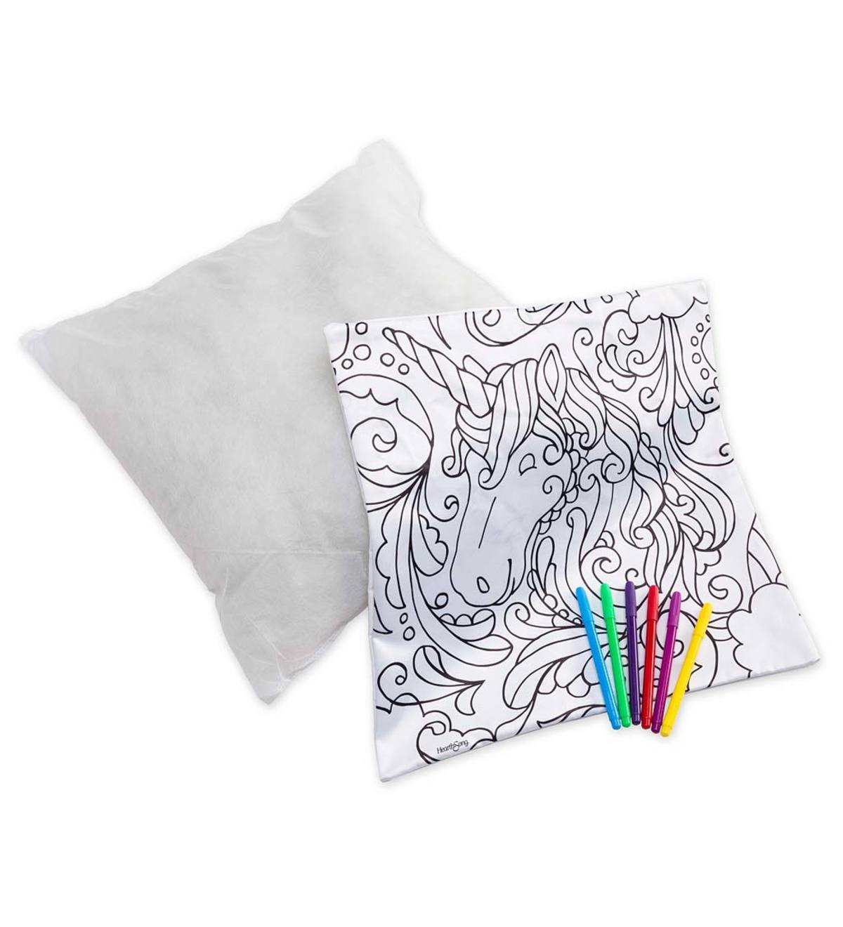 Color Your Own Pillow Kit