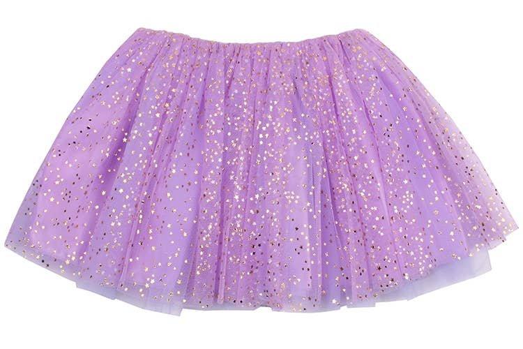Lavender Gold Star Tutu