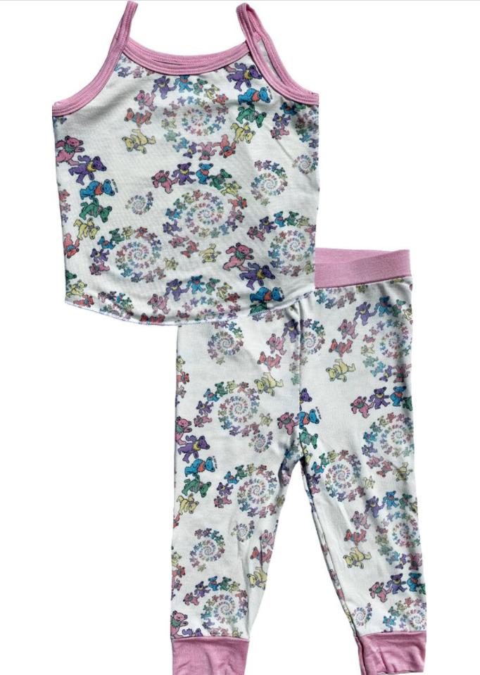 Grateful Dead Tank Top Pajama Set