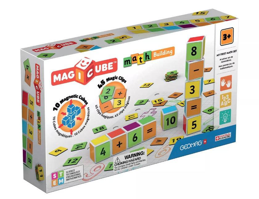 Geomag Magicubes Math Building Magnetic Building Set