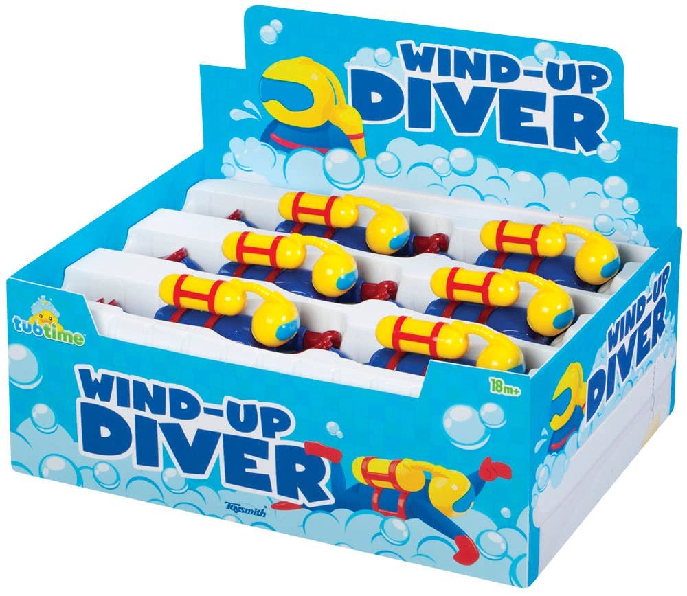 Wind Up Scuba Diver