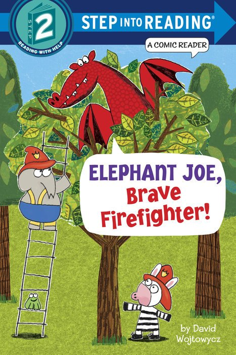 Elephant Joe Brave Firefighter!