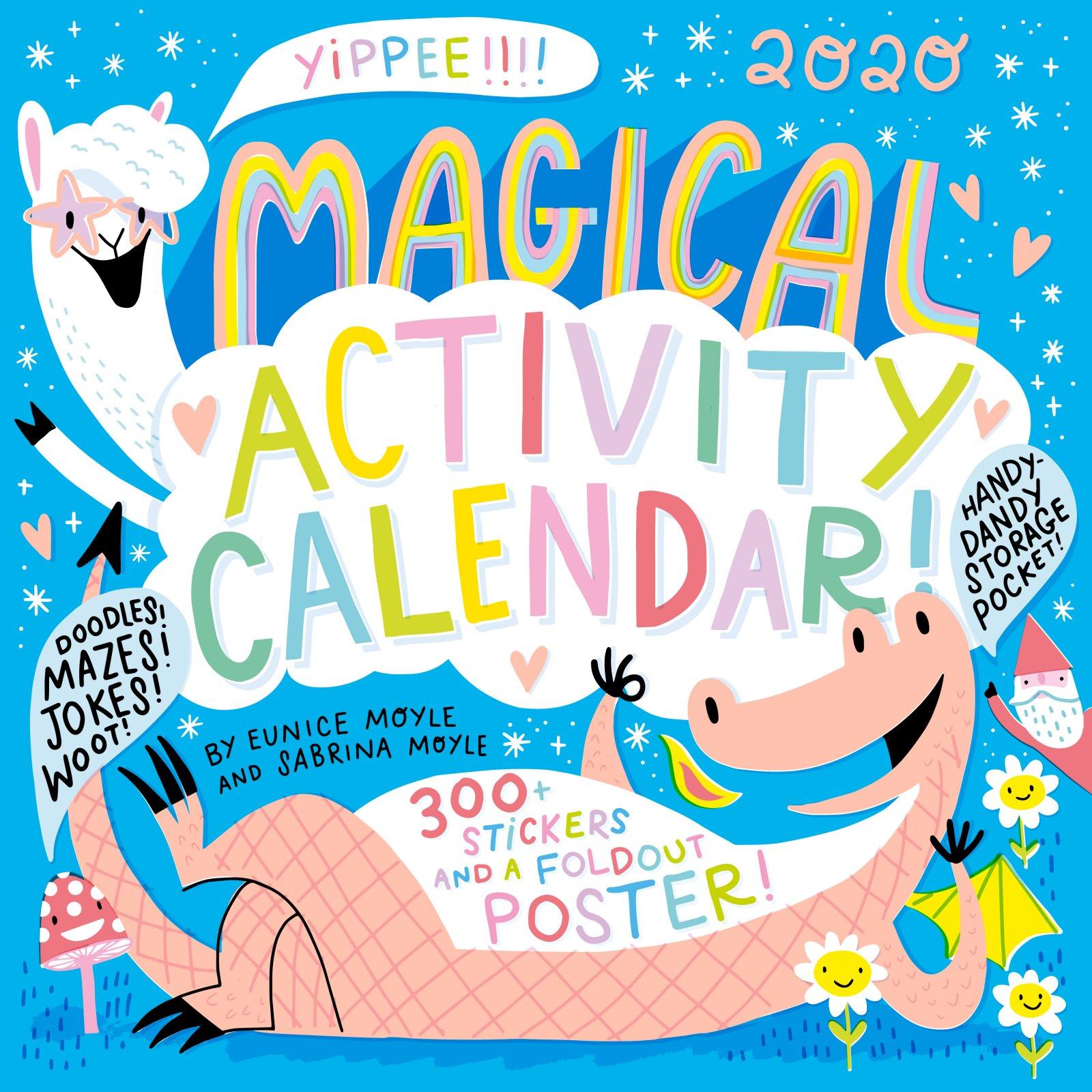 Magical Activity Wall Calendar 2020