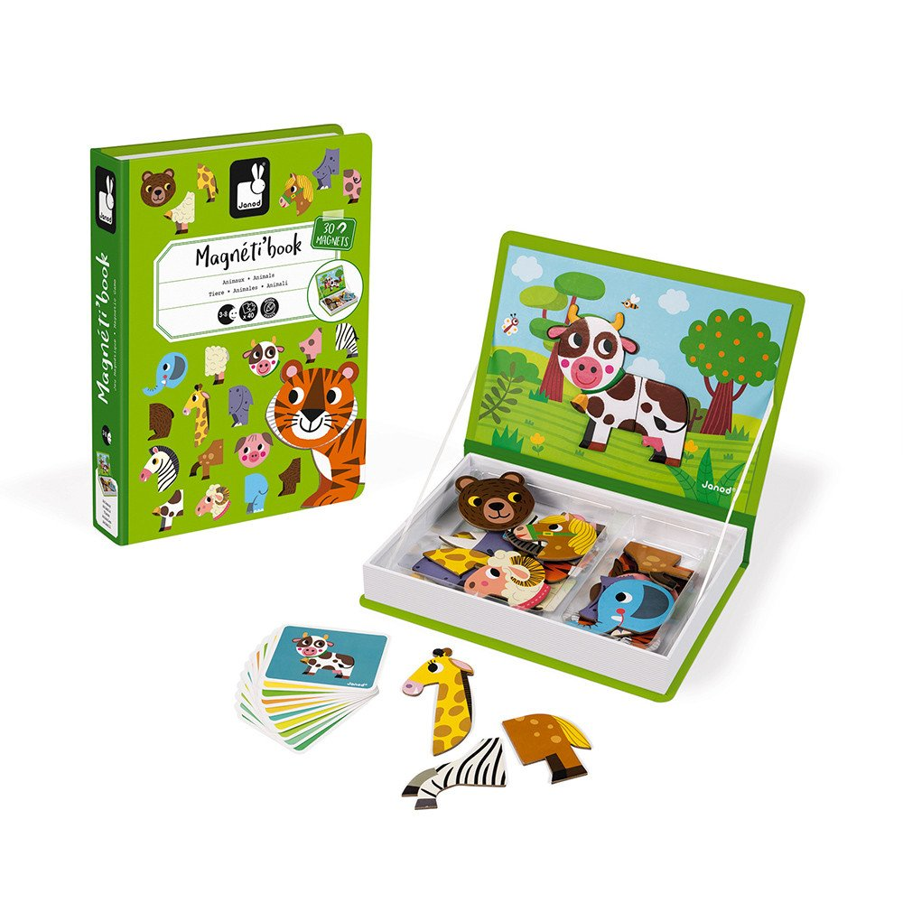 Animals Magnetic Book Play Set