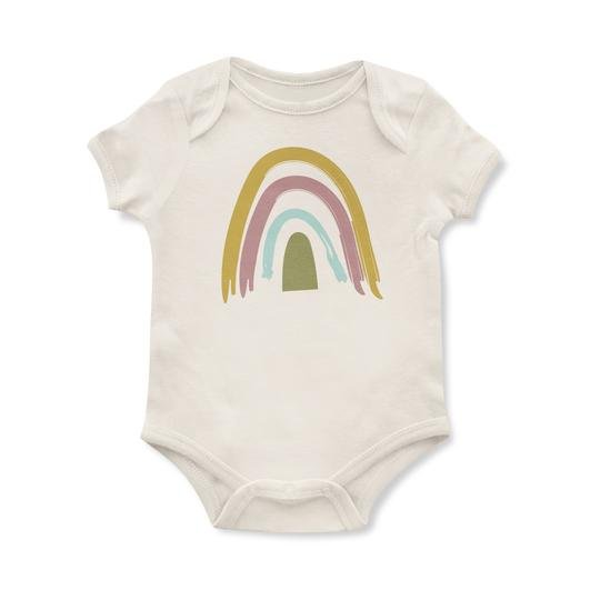 Earth Tone Rainbow Onesie