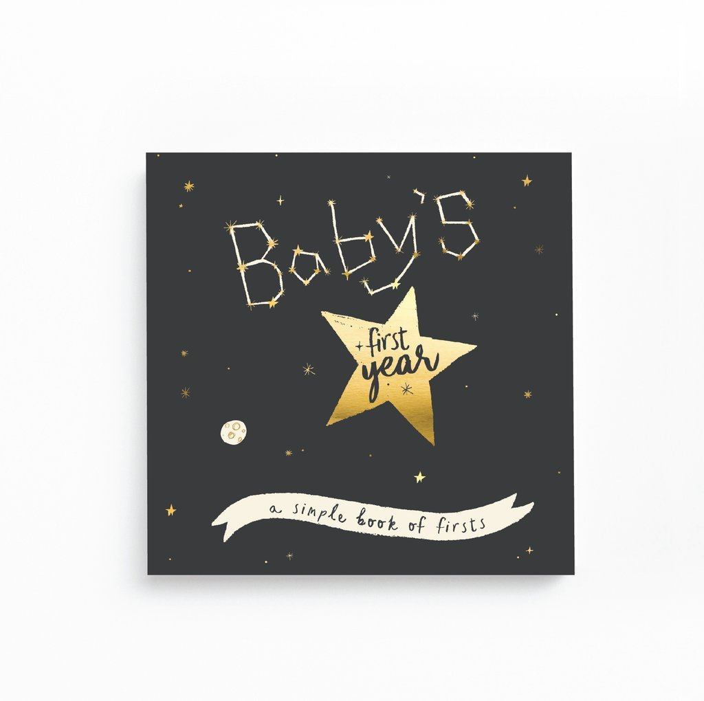 Baby's First Year Golden Memory Book