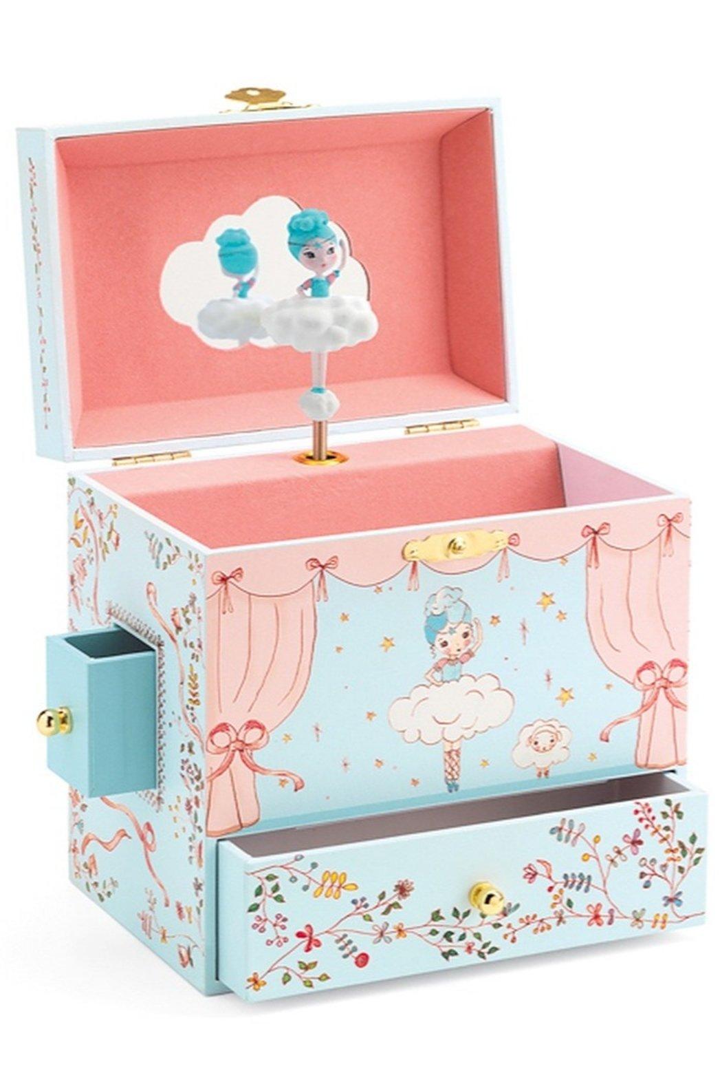 Ballerina on Stage Jewelry Box