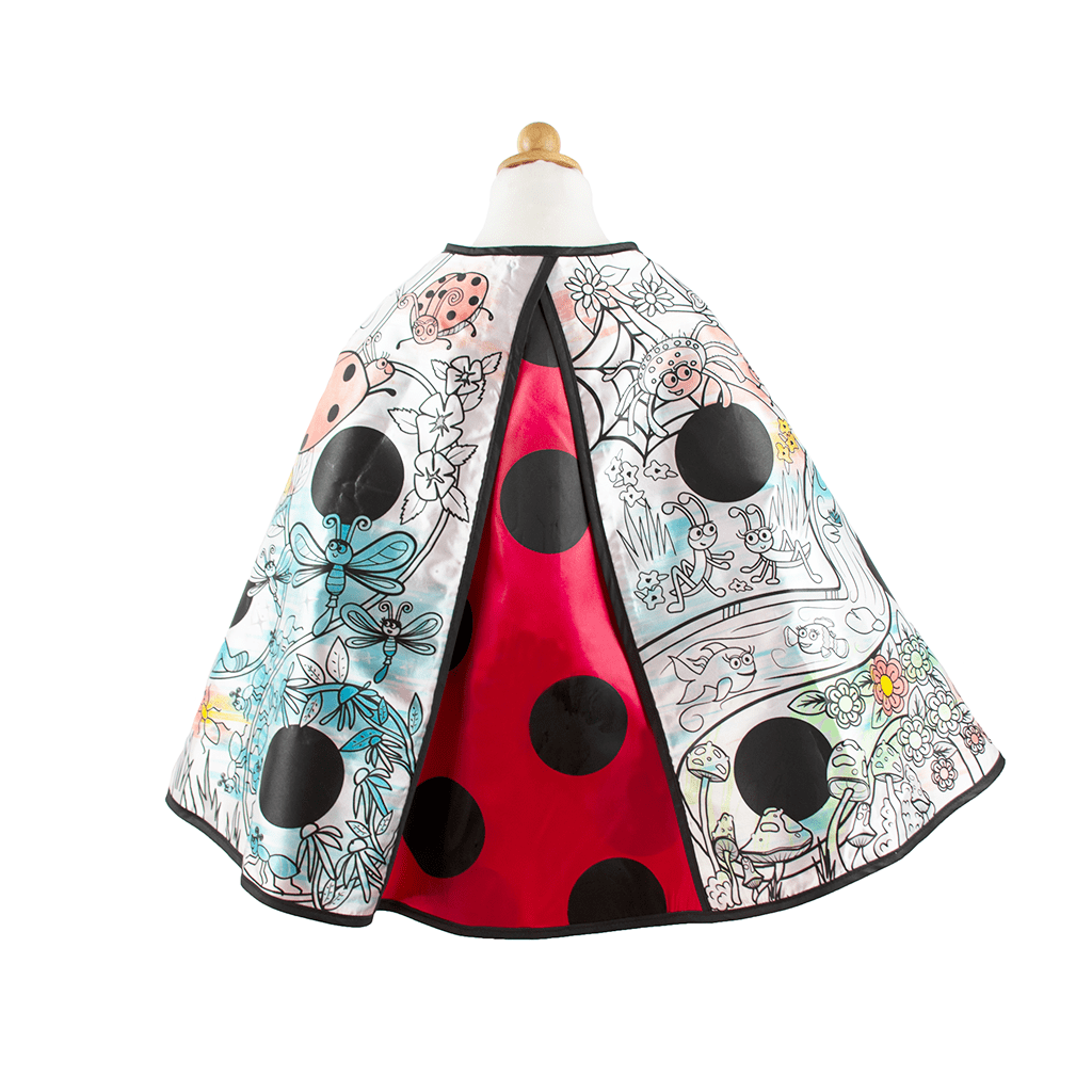 Color-A-Cape Ladybug
