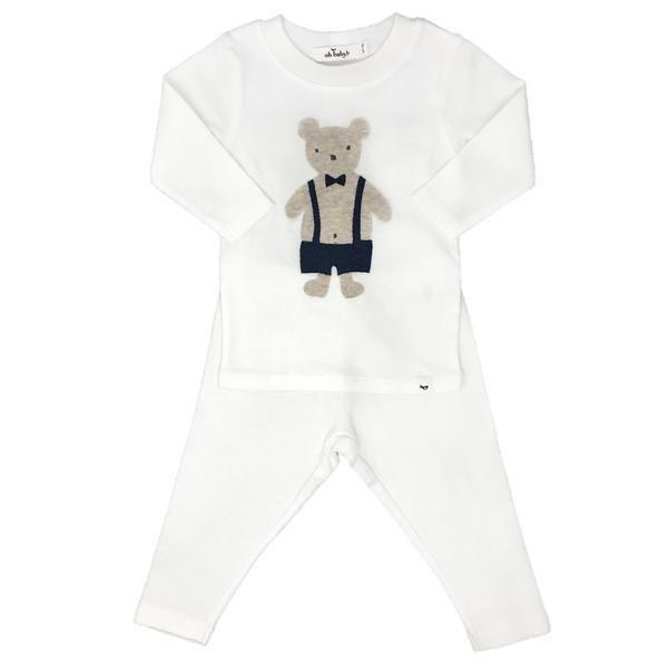 Dapper Teddy Shirt and Pant Set