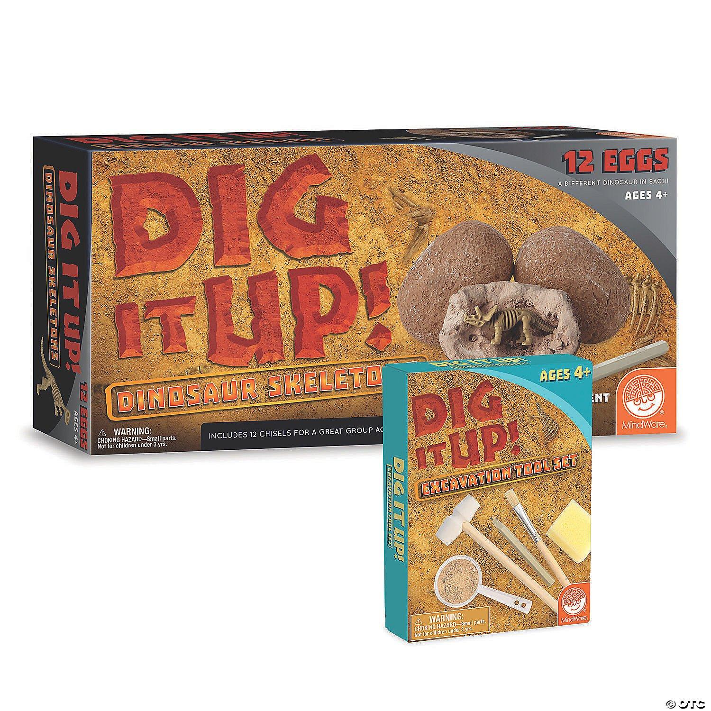 Dig It Up! Dino Skeletons with Bonus Excavation Kit